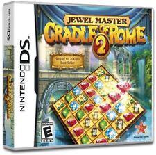 Jewel Master: Cradle Of Rome 2 - Match-3 Build Puzzle DS/Lite/DSi/XL/3DS NEW