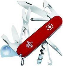 Victorinox Swiss Army Boy Scouts Of America Red Explorer 91mm Clam Pack 54781
