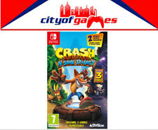 Crash Bandicoot N.Sane Trilogy Nintendo Switch Game New & Sealed In Stock