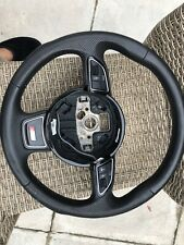 AUDI A4 A5 A6 (2015) S-LINE LEATHER STEERING WHEEL *8K0419091CA*