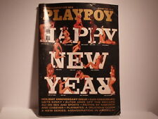 PLAYBOY MAGAZINE JANUARY 1976 INTERVIEW WITH ELTON JOHN - PLAYMATE REVIEW