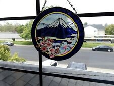 Art Glass Window Round Panel