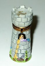 LIMOGES BOX - ARTORIA - RAPUNZEL IN THE WITCH'S TOWER - LE 17/1000 - FIRST CURL