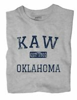 Kaw Oklahoma OK T-Shirt EST