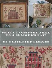 Shall I Compare Thee to a Summer's Day? 12 Page Booklet - Blackbird Designs