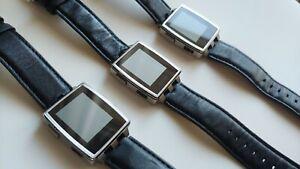 New batt! Pebble Steel Smartwatch 401SLR