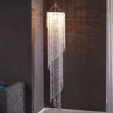 Design XL Hängelampe Kronleuchter BIG STRASS 180cm Kristall Lampe Hängeleuchte