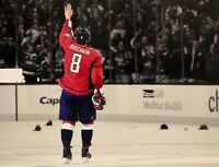 ALEX OVECHKIN AUTOGRAPHED Hand SIGNED 500 GOALS CAPITALS 11x14 PHOTO w/COA