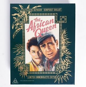 The African Queen Limited Edition VHS Movie Video Free Postage PAL AUS