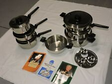 Kitchen Charm Cookware By  Royal Prestige Pan Cookware Waterless Stainless 15pcs