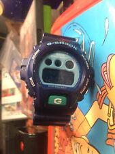 MENS CASIO DW 6900CC ALL BLUE  LCD G SHOCK WATCH 1289 MODULE 1289