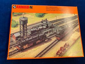 Arnold Spur N Bausatz Bahnbetriebswerk Nr.6305