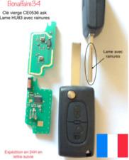 Clé générique Vierge CE0536 ID46 + Électronique Peugeot 207 307 308 SW Testé