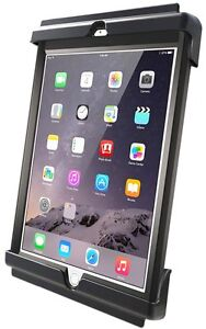 RAM Tab-Tite Quick Release Cradle Holder fits iPad Air, Air 2, fits w/ Otterbox