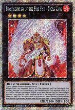 YuGiOh Brotherhood of the Fire Fist Tiger King CT11-EN001 Platinum Secret Rare