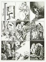 Surrealismus/Groteske 1990 Kupferstich Jürgen CZASCHKA (1943-2018 A handsigniert