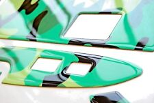 NEW Auto Interior Dash Kit Neon Green Camouflage Trim for Scion XD 2008-2014