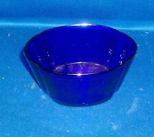 Antique 19th century Bristol Blue Cobalt Glass Bowl Liner Vase
