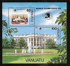 VANUATU # 514 MNH WHITE HOUSE CONCORD JET PLANE
