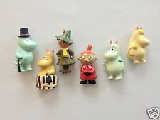 Moomin Fridge Magnet with 6 Characters All in [One Set] by Sweden