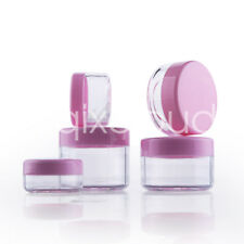 3g 5g 10g 15g 20g Clear Empty Travel Cosmetic Jar Pot Eyeshadow Cream Container