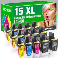 15 Tintenpatronen für Brother LC900 DCP 115 C