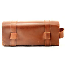 b0d428c5cf77 Royal Men Vintage Style Real Leather Toilet Toiletry Bag