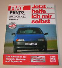 Reparaturanleitung Fiat Punto Limousine, GT, Cabrio - Baujahre 1993 bis 1998!