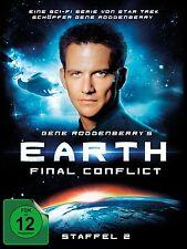 EARTH:FINAL CONFLICT-GENE RODDENBERRYS EARTH:FINAL CONFLICT-STAFFEL 2 6 DVD NEU