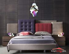 PROMO Lampadario moderno + 2 lampade comodino luci camera da letto Illuminazione