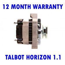 TALBOT HORIZON 1.1 1.3 1.4 1978 1979 1980 1981 - 1986 REMANUFACTURED ALTERNATOR