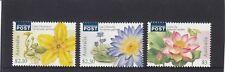 AUSTRALIA 2017 - WATER FLOWERS - NEW INTERNATIONAL stamp Design set MNH - FLORA