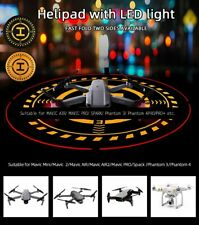 For DJI MAVIC AIR 2/MINI/AIR/SPARK Foldable Helipad Landing Pad w/ LED Lighting