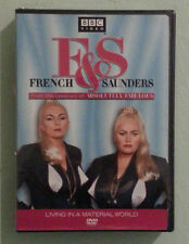 bbc  F & S FRENCH AND SAUNDERS living in a material world DVD NEW