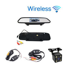 Car Styling 4.3' Car Rear View Mirror Car Monitor Display with Wireless Camera