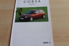 133809) Opel Corsa B - Atlanta - Prospekt 12/1995