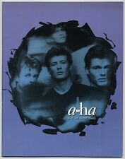 a-ha - Stay On These Roads JAPAN PROGRAM with TICKET STUB September 3-30 1988