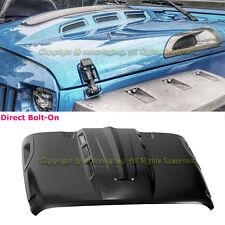 For 07-16 Jeep JK Wrangler Avenger Style Dome Sport Engine Vented Scope Hood