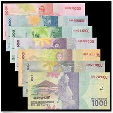 Indonesia 2016 7pcs Set AAA (UNC)