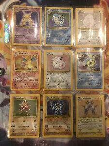 Pokemon Cards 1999 | Complete Base Set | 102/102 | ENGLISH | Includes All Cards