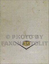 1963 Cadillac Data Book OEM Original Dealer Showroom Album for all models