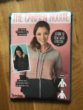 sewing dressmaking pattern - 'the Carmen Hoodie ' - size xs - xl