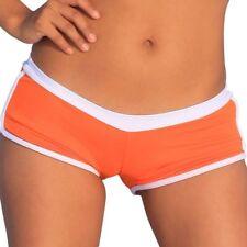 Bikini Bottom Swimsuit Orange Short Banded Booty Hot Boy Pants White Large