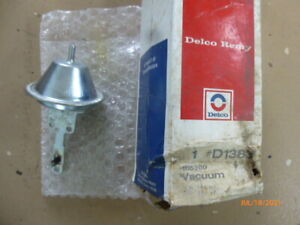 1115360 NOS Delco Vacuum Advance 1966 - 1970 HP Chevelle Camaro Corvette Nova