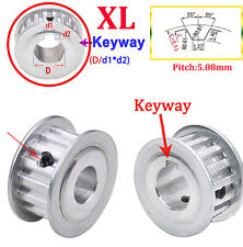 Xl Timing Belt Pulley 15t 40t Drive Pulley Width 11mm With Keyway3d Printer Cnc