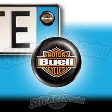 3 ADESIVI targa BUELL stickers auto moto camper scudo