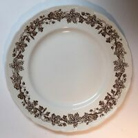 Set of 5 Booths Sycamore Pattern Dinner Plates Rare Porcelain Made in England
