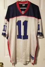 Reebok Drew Bledsoe Buffalo Bills NFL Jersey Men's 2XL