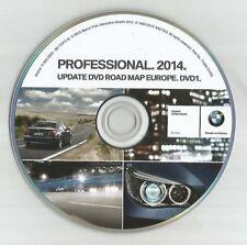 Original BMW professionnel (double disque slot) Navigation Sat Nav Disc DVD Carte