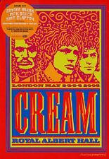 Cream Live At Royal Albert Hall London 2-6 May 2005 Rock Music DVD Brand New